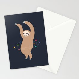 Sloth Galaxy Stationery Cards
