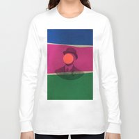 magritte Long Sleeve T-shirts featuring Magritte by Naomi Vona