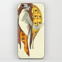klimt iPhone & iPod Skins featuring gustav klimt by Lily Snodgrass