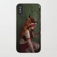 princess mononoke iPhone & iPod Cases featuring Princess Mononoke by Melissa Smith