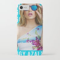 iggy azalea iPhone & iPod Cases featuring Iggy Azalea Blue by Illuminany