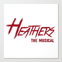 Heathers Musical Logo Canvas Print