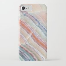 Pastel Onyx Marble iPhone 7 Slim Case