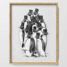 A Gathering of Gentlemen Serving Tray