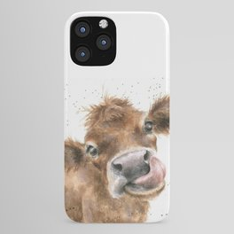 Face baby cattle iPhone Case