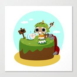 Monster Hunter - Felyne and Poogie Canvas Print