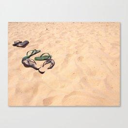 Beachin Canvas Print