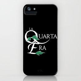 LaQuartaEra_Black iPhone Case