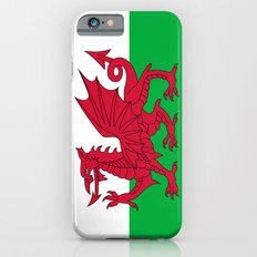 National flag of Wales - Authentic version iPhone 6s Slim Case