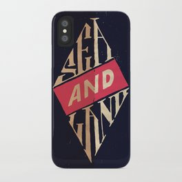 Sea and Land iPhone Case