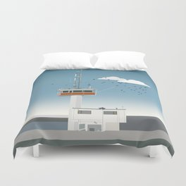 The Falsterbo channel Duvet Cover