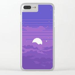 Moonburst V2 Clear iPhone Case
