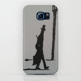 Walking Home, London, 1887 iPhone Case