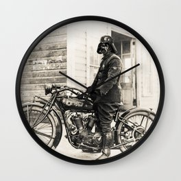 The wild one Wall Clock