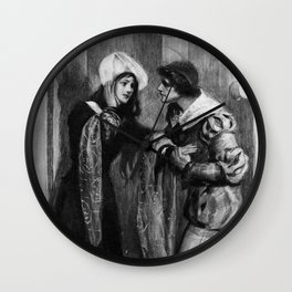The Duchess of Padua Wall Clock
