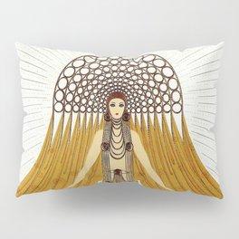 """Art Deco Oriental Design """"Café Foujita"""" Pillow Sham"""