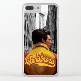 Wanderers Member Jacket Clear iPhone Case