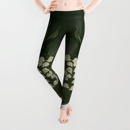 Lily of the Valley: Convalleria Majalis Leggings