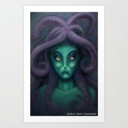 Queen Neptune Art Print