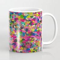 rush Mugs featuring City Rush by Georgiana Paraschiv