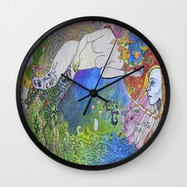 circular vision Wall Clock