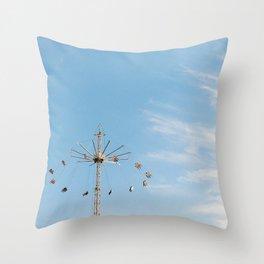 Sky Swings at the Minnesota State Fair Throw Pillow