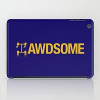 audi iPad Cases featuring AWDSOME v1 HQvector by Vehicle