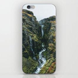 Glymur Falls iPhone Skin