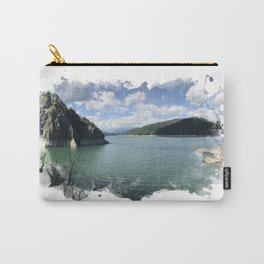 Vidraru Lake Landscape Carry-All Pouch