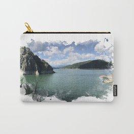 Vidraru Lake Landscape Carry-All Pouch