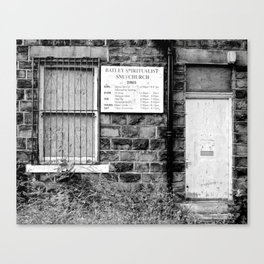 Abandoned: Batley Spiritualist Church Canvas Print