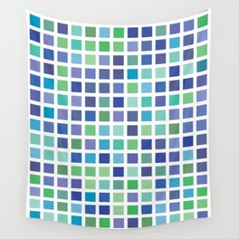 City Blocks - Ocean #889 Wall Tapestry