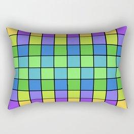 Pastel Chex Rectangular Pillow