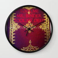 tool Wall Clocks featuring Tool Me by Jrr Bookworks