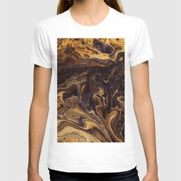 Chocolate and Gold T-shirt