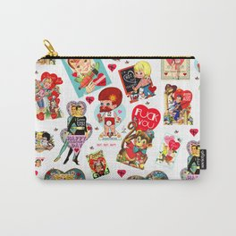 SISSYDUDE UNCUT VALENTINE CARDS Carry-All Pouch