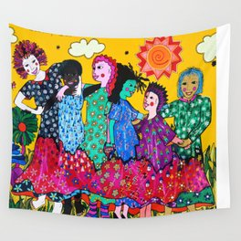 WOMANS SOLIDARITY Wall Tapestry