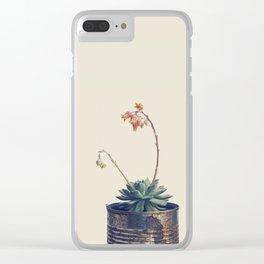 Succulent Clear iPhone Case
