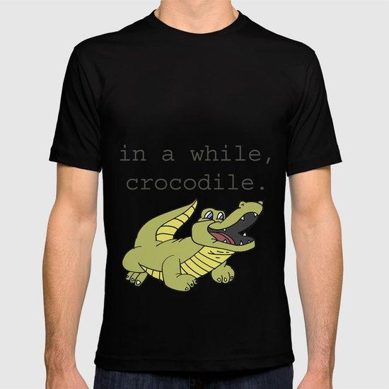 In A While Crocodile, Dark T-shirt