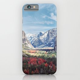 Tunnel View Yosemite Valley iPhone Case