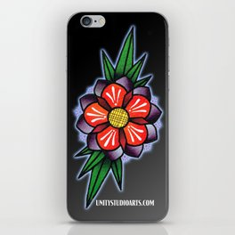 September Flower iPhone Skin