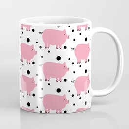 Here Piggy Piggy Coffee Mug