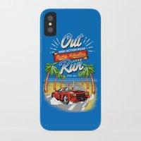 racing iPhone & iPod Cases featuring Racing Adventure by MeleeNinja