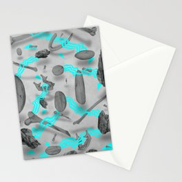 Sinister bones&rocks Stationery Cards