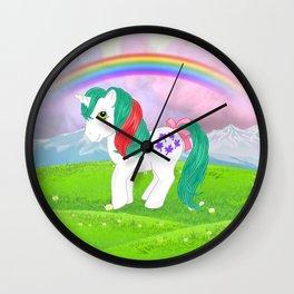 g1 my little pony gusty Wall Clock