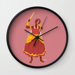 ORIXAS_ obá Wall Clock