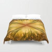 grass Duvet Covers featuring Grass by Susann Mielke