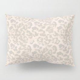 Beige leopard print . Pillow Sham