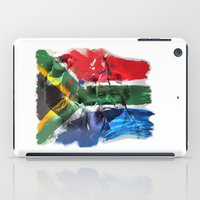 mandela iPad Cases featuring Nelson Mandela by Behrooz Falsafi