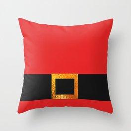 Festive Santa Throw Pillow